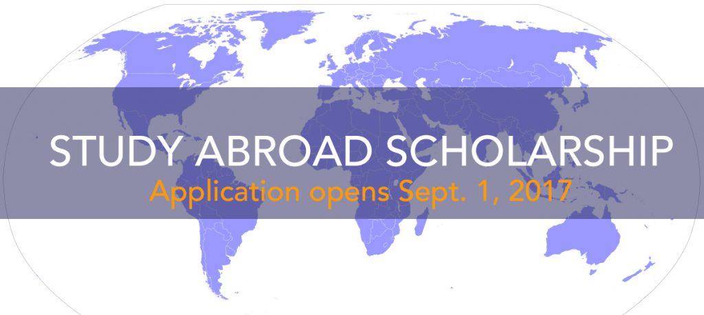 JICUF website study abroad scholarship