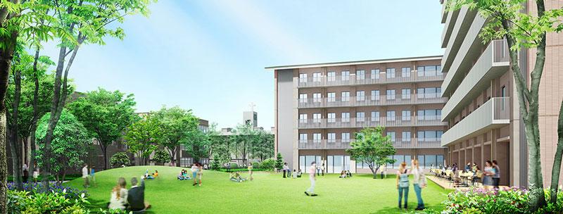 new dorms